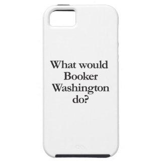 qué booker Washington haría iPhone 5 Funda
