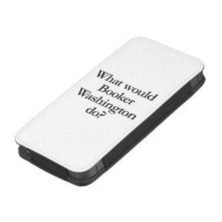 qué booker Washington haría Bolsillo Para iPhone
