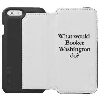 qué booker Washington haría Funda Cartera Para iPhone 6 Watson