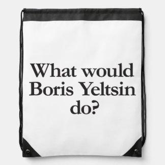 qué Boris Yeltsin haría Mochila