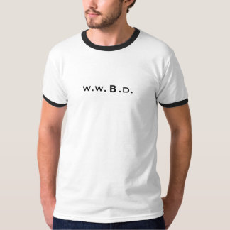 ¿Qué Bourne haría? W.W.B.D. Playera