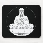 ¿Qué Buda haría? Alfombrillas De Ratón