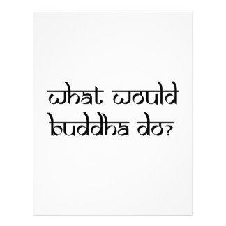 Qué Buda haría Plantilla De Membrete