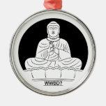 ¿Qué Buda haría? Ornamento Para Reyes Magos