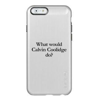 qué Calvin Coolidge haría Funda Para iPhone 6 Plus Incipio Feather Shine
