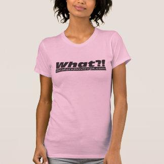 ¡Qué?! Camisa cabida para mujer