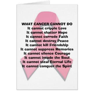 Qué cáncer no puede hacer tarjeta de felicitación