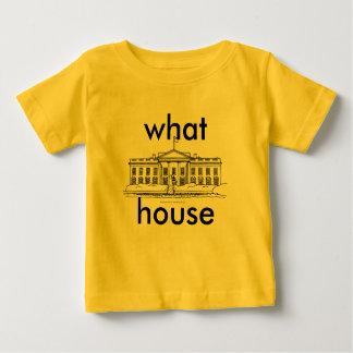 ¿qué casa? conceptos playera de bebé