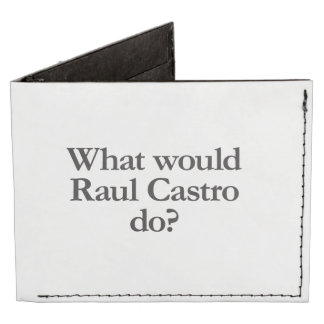 qué castro de Raúl haría Billeteras Tyvek®