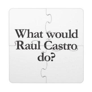 qué castro de Raúl haría Posavasos De Puzzle