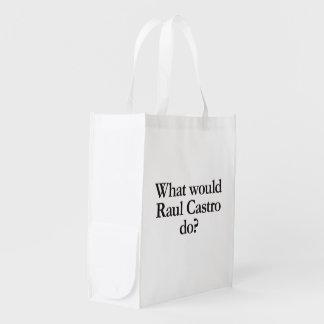 qué castro de Raúl haría Bolsa De La Compra