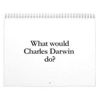 qué Charles Darwin haría Calendarios