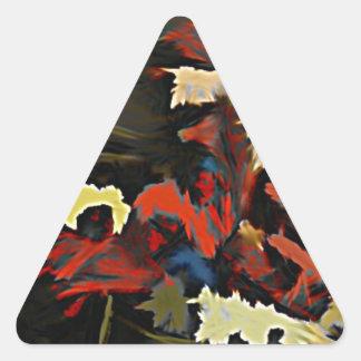¿Qué clase de hombre es éste? Pegatina Triangular