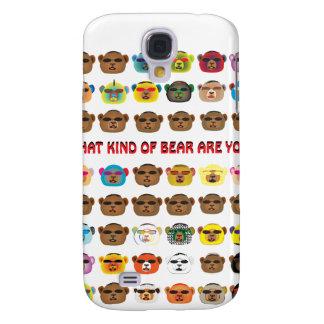¿Qué clase de oso es usted? Funda Para Galaxy S4