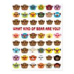 ¿Qué clase de oso es usted? Postales