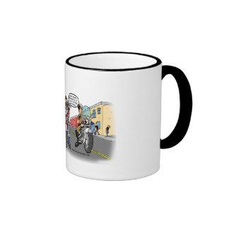 ¿Qué clase de reunión de la motocicleta es ésta? Tazas De Café