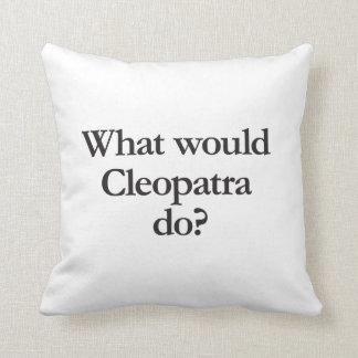 qué Cleopatra haría Cojin