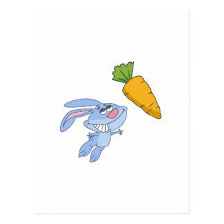 Qué conejos soñan alrededor postales