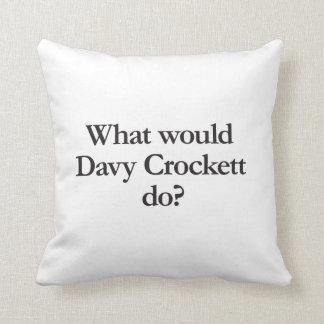 qué crockett davy haría almohada