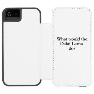 qué Dalai Lama haría Funda Billetera Para iPhone 5 Watson