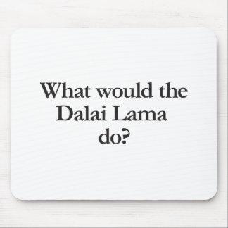 qué Dalai Lama haría Alfombrilla De Ratón