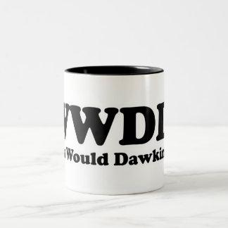 ¿Qué Dawkins haría? Taza De Dos Tonos