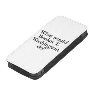 qué el booker t Washington d Bolsillo Para iPhone