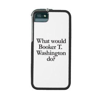 qué el booker t Washington haría