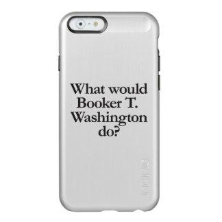 qué el booker t Washington haría Funda Para iPhone 6 Plus Incipio Feather Shine