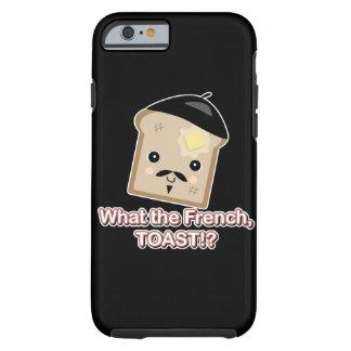 qué el dibujo animado lindo de la tostada del funda de iPhone 6 tough