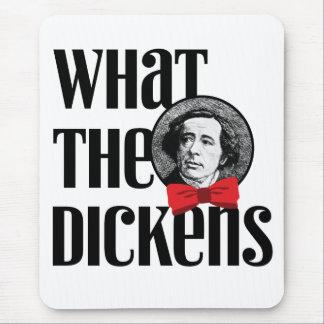 Qué el Dickens (arco rojo) Alfombrilla De Ratón