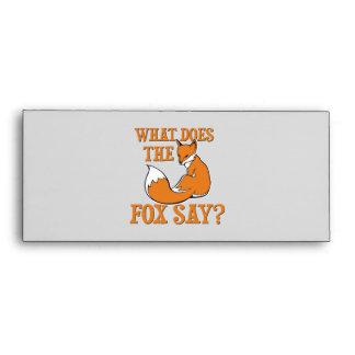 ¿Qué el Fox dice