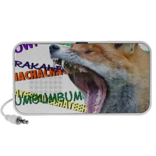 ¿Qué el Fox dice? iPod Altavoz