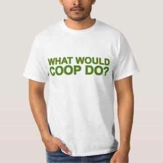 ¿Qué el gallinero haría? Camiseta Polera