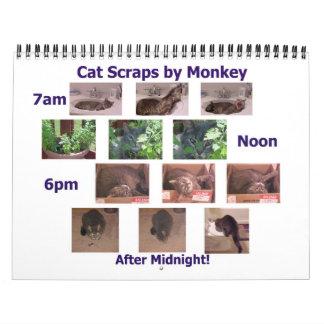 Qué el gato arrastró en 2012 el calendario