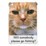 ¡Qué el gato piensa! iPad Mini Protector