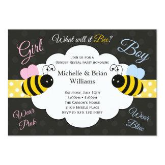 Qué él género de la abeja revelará la invitación