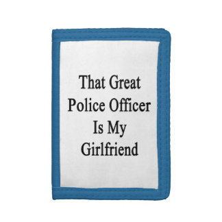 Que el gran oficial de policía es mi novia