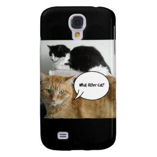 ¿Qué el otro gato Humor del Tabby de Orange