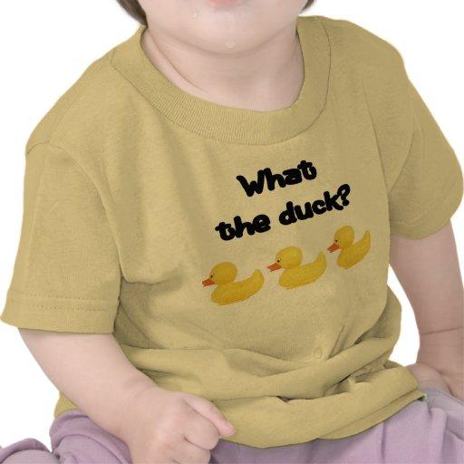 Qué el pato camiseta