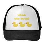 ¿Qué el pato? Gorra