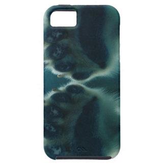 Qué él vio debajo del hielo iPhone 5 Case-Mate protectores