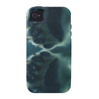 Qué él vio debajo del hielo Case-Mate iPhone 4 carcasas