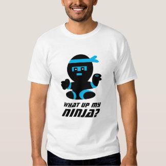 Qué encima de mi camiseta del ninja polera