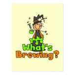 Qué está elaborando cerveza las camisetas y los re tarjeta postal
