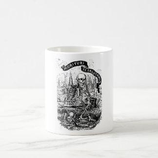 Que están a punto de morir saludo usted asaltamos taza de café