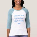 Qué estoy embalando ..... camisetas