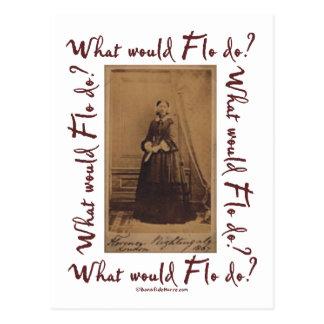¿Qué Flo haría? Florence Nightingale Postales