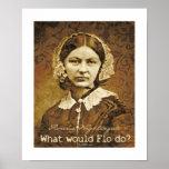 ¿Qué Florence Nightingale haría? Posters