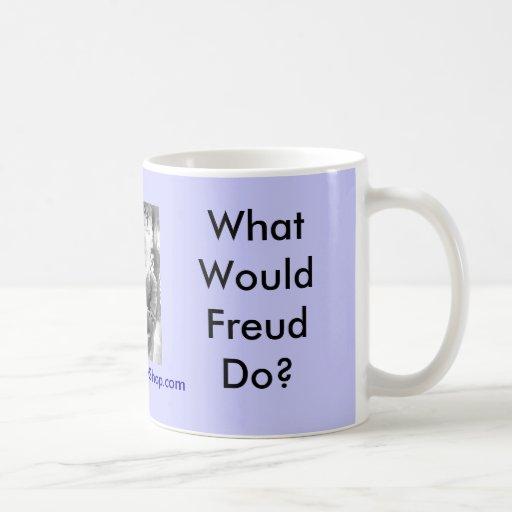 ¿Qué Freud haría? Tazas